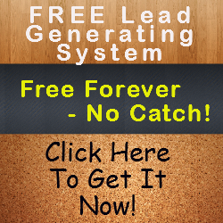 Free Lead System banner